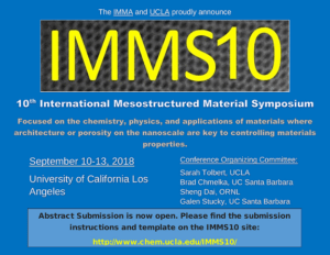 Abstract Submission Deadline Extension - IMMS 10